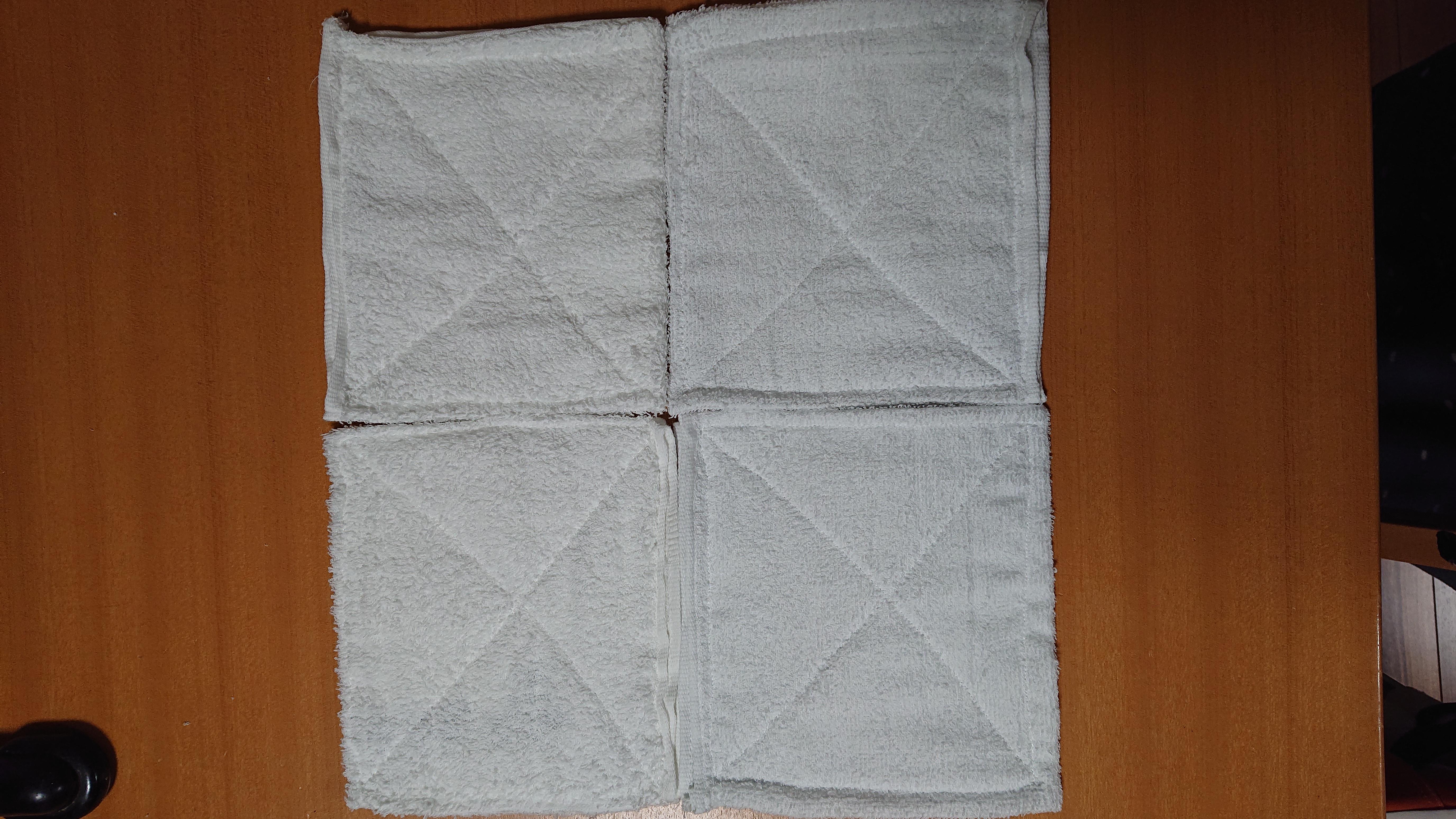 入園準備第一弾!雑巾作り