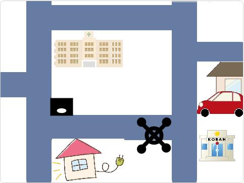 小学生必見!簡単なプログラム!総合的な学習の時間「ドローンで宅配」