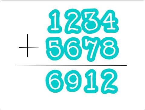 小学生必見!スクラッチの簡単なプログラム!算数の授業「足し算の筆算」